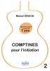 Gracia Michel : Comptines pour l'initiation - Apprendre la guitare à partir de 7 ans