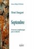Sauguet Henri : Septembre -Nocturne symphonique pour orchestre (CONDUCTEUR)