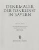 Platti Giovanni Benedetto : Denkmäler der Tonkunst in Bayern