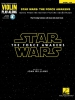 Williams John : Violin Play-Along Volume 61: Star Wars Episode VII - The Force Awakens