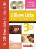 Scholl Ingo : BLUES LICKS GITARRE 3D+CD+DVD