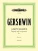 Gershwin George : Jazz Classics for Piano Solo, Volume 1