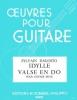 Dagosto Sylvain : Valse en do - Idylle