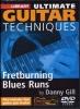 Gill Danny : Dvd Lick Library Fretburning Blues Runs