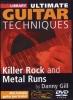 Gill Danny : Dvd Lick Library Killer Rock/Metal Runs