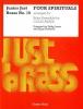 Junior Just Brass No16 Four Spirituals Trpt Horn Trb
