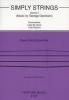Gershwin George : SIMPLY STRING VOL5 / Gershwin - Ensemble à cordes***