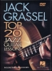Grassel Jack : Dvd Top 20 Jazz Guitar Lessons Jack Grassel