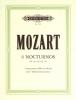 Mozart, Wolfgang Amadeus : Livres de partitions de musique