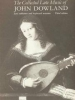 Dowland John : Collected Lute Music