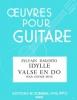 Dagosto Sylvain : Idylle - Valse en do