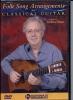 Hand Frederic : Dvd Folk Songs Arrangements For Classical Guitar
