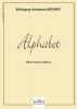 Mozart Wolfgang Amadeus : Alphabet en Sol Majeur