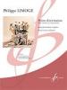 Points D'Orientation, Petit Concerto En Deux Mouvements