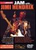 Hendrix Jimi : Dvd Lick Library Jam With Jimi Hendrix 2 Dvd/1 Cd