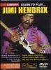 Hendrix Jimi : Dvd Lick Library Learn To Play Jimi Hendrix