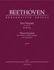 Beethoven Ludwig Van : Three Sonatas in C min, F maj, D maj op. 10