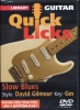 Humphries Jamie : Dvd Lick Library Quick Licks Slow Blues In Gm D. Gilmour
