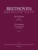 Beethoven Ludwig Van : Two Sonatas for Pianoforte E major, G major op. 14