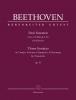 Beethoven Ludwig Van : Three Sonatas for Pianoforte in G major, D minor, E-flat major op. 31