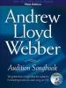 Lloyd Webber Andrew : WEBBER AUDIT.SONGBOOK MALE+CD