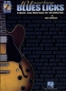 Marshall Wolf : 101 Must Know Blues Licks Tab Cd