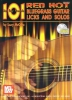 Mc Cabe Larry : 101 Red Hot Bluegrass Guitar Licks