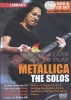 Metallica : Dvd Lick Library Learn To Play Metallica The Solos