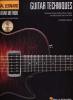 Mueller Michael : Hal Leonard Guitar Techniques Tab Cd