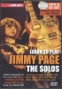 Page Jimmy : Dvd Lick Library Learn To Play Page Jimmy The Solos Cd/Dvd