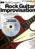 Rooksby Rikky : Fast Forward Rock Guitar Improvisation Tab Cd