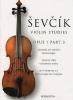 Sevcik Otakar : Sevcik Violin Studies Op.1 Part.3 Technique Du Violon