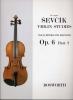 Sevcik Otakar : Sevcik Violin Studies Op.6 Part.2 For Beginners