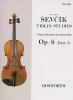 Sevcik Otakar : Sevcik Violin Studies Op.6 Part.3 Method