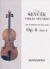 Sevcik Otakar : Sevcik Violin Studies Op.6 Part.6