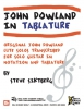 Siktberg Steve : John Dowland in Tablature