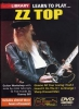 Zz Top : Dvd Lick Library Learn To Play Zz Top