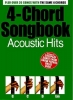 4-Chord Songbook Acoustic Hits Guitar