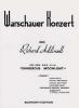 Addinsell Warschauer Konzert Piano Solo