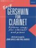 Gershwin George : Easy Gershwin for Clarinet