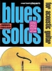 Blues Solos Acoustic Guitar Cd Tab