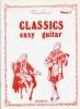 Classics Easy Guitar Vol 3