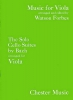 Bach Johann Sebastian : The Solo Cello Suites (Viola)