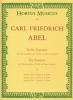 Abel Carl Friedrich : Sechs Sonaten für Viola da gamba (Violine, Flöte) und Basso continuo. Heft 1