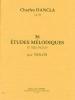 Dancla Charles : 36 Etudes mélodiques op. 84