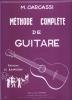 Carcassi Matteo : Méthode complète de guitare