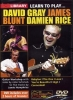 Dvd Lick Library Learn To Play J. Blunt, D. Gray, D. Rice