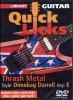 Dvd Lick Library Quick Licks Trash Dimebag Darrell E