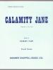 Webster P. / Fain S. : Calamity Jane (vocal score)