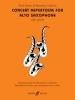 Harris Paul / Calland B. : Concert Repertoire (alto sax and piano)